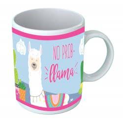MUST No Prob Llama Ceramic Mug 325Ml 000579627 5205698429668