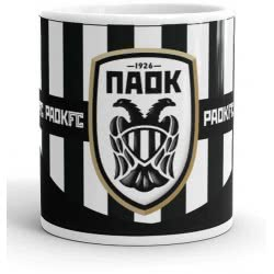 Diakakis imports PAOK FC Ceramic Mug 325Ml 000130945 5205698422799