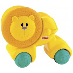 Fisher-Price Growing Baby Press And Crawl Lion W3149 746775045654