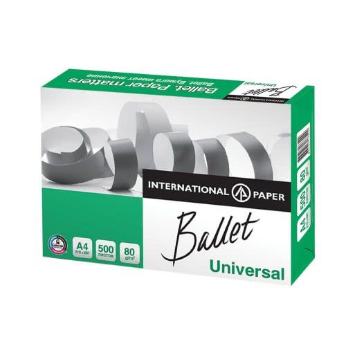 A&G PAPER Ballet Universal Χαρτί Α4 Φωτοτυπικό 80Gr 500 Φύλλα 21X29.7 Εκ. 027436 4605817133109