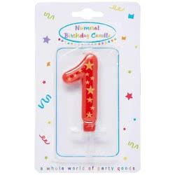 PROCOS Numeral Candles No. 1 089164 5201184891643