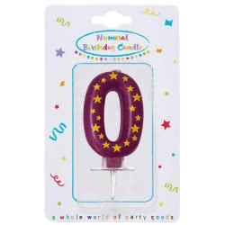 PROCOS Numeral Candles No. 0 089163 5201184891636