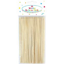 PROCOS Wooden Barbecue Skewers - 50pcs 089176 5201184891766