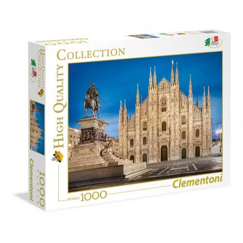 Clementoni Παζλ 1000τεμ. High Quality Collection Μιλάνο 1220-39454 8005125394548