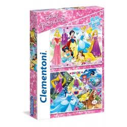Clementoni Παζλ 2Χ20 S.C. Princess 1200-24751 8005125247516