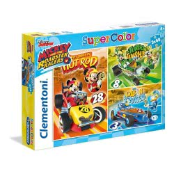 Clementoni ΠΑΖΛ 3Χ48 Mickey Roadster Racers 25227 8005125252275
