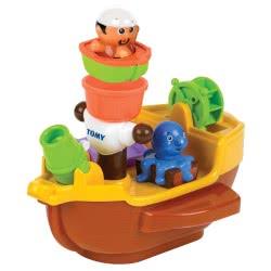 TOMY Toomies Pirate Ship Bath Toy 1000-71602 5011666716025