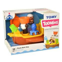 TOMY Toomies Pirate Ship Καράβι Πειρατών Παιχνίδι Μπάνιου 1000-71602 5011666716025