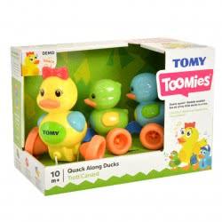 TOMY Toomies Quack Along Ducks Συρόμενα Παπάκια Στη Σειρά 1000-14613 5011666046139