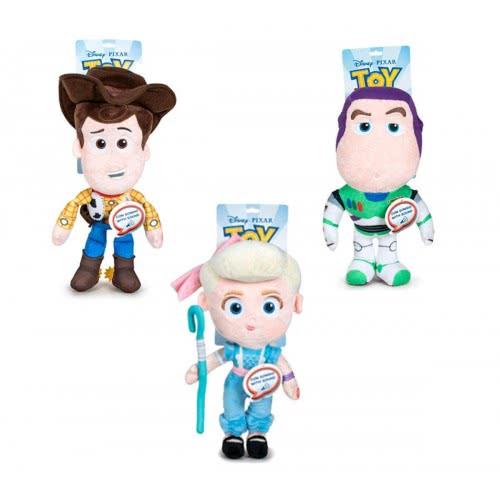 Gialamas Toy Story 4 Λούτρινα 30Cm Με Ήχο - 3 Σχέδια (Buzz, Woody, Bo Peep) PBP18174 8425611380464