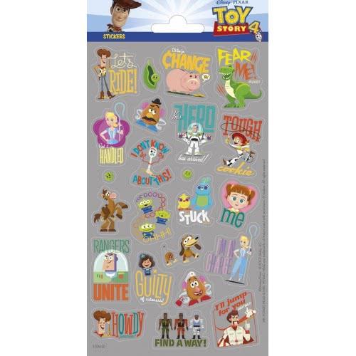 HOLLYTOON Toy Story 4 Stickers Αυτοκόλλητα Γκλίτερ SD100650 8718819312802