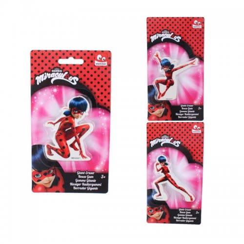 Stamco Σβηστρα Miraculous Ladybug μεγαλη - 3 Σχέδια CAN07419 8712916074199