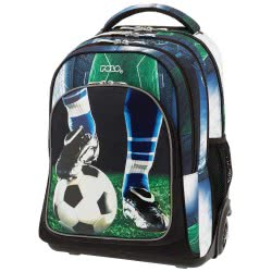 POLO Primary School Trolley Backbag Troller/Glow (P.R.C) 2019 - Football 901251-70 5201927100940
