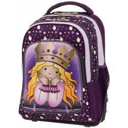 POLO Primary School Trolley Backbag Troller/Glow (P.R.C) 2019 - Princess 901251-72 5201927100964