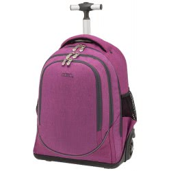 POLO Primary School Trolley Backbag Uplow (P.R.C) 2019 - Purple 901253-13 5201927101046