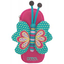 POLO Pencil Case Animal Junior (P.R.C.) 2019 - Butterfly 937011-61 5201927102197