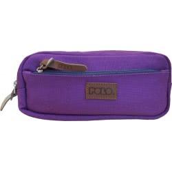 POLO Pencil Case Canvas (P.R.C.) 2019 - Purple 937257-13 5201927102517