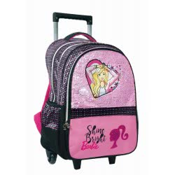 GIM Barbie Sparkle Shine Bright Primary School Trolley 349-64074 5204549118546