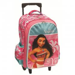 GIM Vaiana Σακίδιο  Primary School Trolley - Pink 331-27074 5204549113275