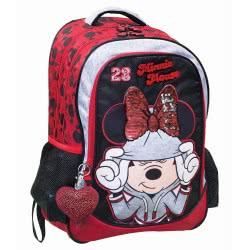 GIM Minnie Mouse Athletic Τσάντα Πλάτης Δημοτικού Οβάλ 340-67031 5204549118263