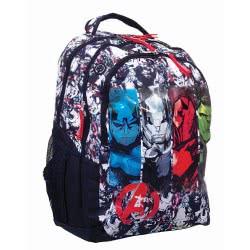 GIM Marvel Avengers Classic Τσάντα Πλάτης Δημοτικού Οβάλ 337-27031 5204549122932