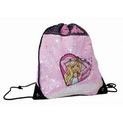 GIM Barbie Sparkle Τσάντα Πουγκί Πλάτης 349-64261 5204549123748