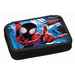 GIM Spiderman Into The Spiderverse Κασετίνα Διπλή Γεμάτη 337-71100 5204549118720