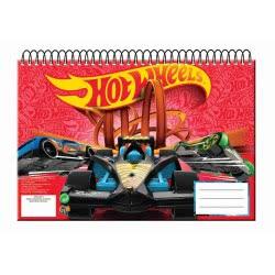 GIM Hot Wheels Painting Block Α4 30 Sheets 349-24413 5204549121331