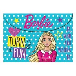 GIM Barbie Φάκελος A4 Κουμπί 349-63580 5204549121478
