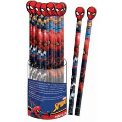 GIM Spiderman Μολύβι Rubber Με Φιγούρα Σπάιντερμαν - 1 Τμχ 337-72613 5204549121966