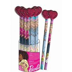 GIM Barbie Μολύβι Rubber Με Διακοσμητικό Μπάρμπι - 1 Τμχ 349-63617 5204549123670