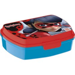 Group Operation Miraculous Ladybug Lunch Box Red B86974 8412497869749