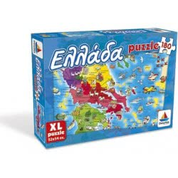 Desyllas Games Δεσύλλας Puzzle 180 - Ελλάδα 100421 5202276004217