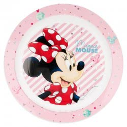 Stor Minnie Mouse Παιδικό Πλαστικό Πιάτο - Electric Doll B18847 8412497188475