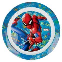 Stor Spiderman Graffiti Παιδικό Πλαστικό Πιάτο B37947 8412497379477