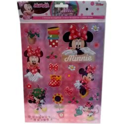Group Operation Minnie Mouse Stickers Αυτοκόλλητα A4 F43376 8719497435043