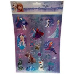 Group Operation Disney Frozen Stickers A4 F43376 8719497435036