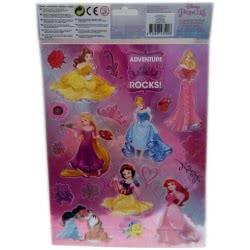 Group Operation Disney Princess Stickers Αυτοκόλλητα A4 F43376 8719497435098