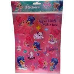 Group Operation Shimmer And Shine Stickers A4 F43376 8719497435074