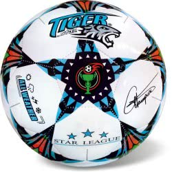 Soccer Ball Tiger Pro Star Size 5 White-Blue 35/806 5202522008068
