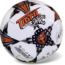 Μπάλα Ποδοσφαίρου Tiger Pro Star Size 5 Άσπρο-Πορτοκαλί 35/807 5202522008075