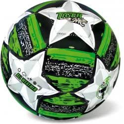 star Μπάλα Ποδοσφαίρου Tiger Mathc Line Fluo Size 5 Πράσινο 35/810 5202522008105