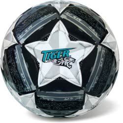 star Soccer Ball Tiger Mathc Line Size 5 Black-Grey 35/811 5202522008112