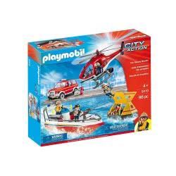 Playmobil City Action Πυροσβεστική Ομάδα Διάσωσης 9319 4008789093196