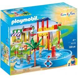 Playmobil Family Fun Aqua Park Με Καφετιέρα 70115 4008789701152