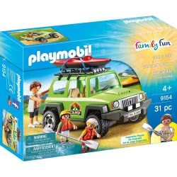 Playmobil Family Fun Leisure Camp Off-Road Vehicle 9154 4008789091543