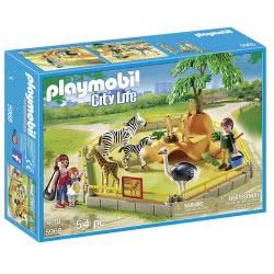 Playmobil City Life Wild Animal Enclosure Playset 5968 4008789059680