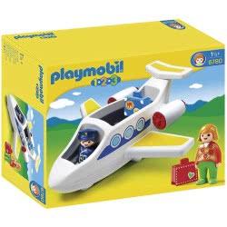 Playmobil 1.2.3 Επιβατικό Αεροπλάνο 6780 4008789067807