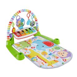 Fisher-Price Deluxe Kick And Play Piano Gym FWT15 887961682410