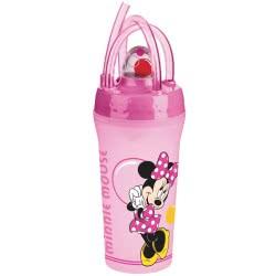 Gialamas Ποτήρι με καλαμάκι Minnie Mouse Bubbles TRU62299 063562622998